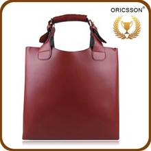 Casual Zipper Ladies Bucket bags Made of High Quality Leather