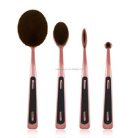 Beauty Accessories Hard Hair Brush 4pcs Cosmetic Brushes Makeup kit