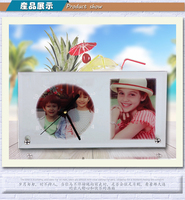 Hot Gift souvenir Printable Clock Sublimation Wall Clock (gl-14)
