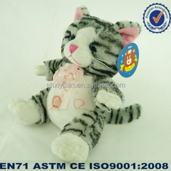 Wholesale Stuffed Cat Toy Plush Musical Christmas Toy