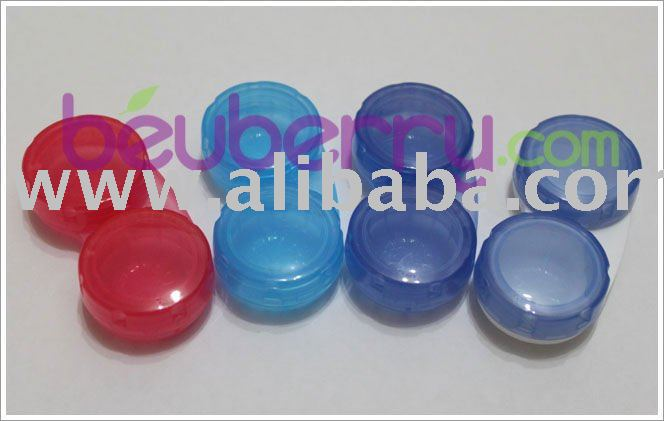 Transparent Contact Lens Case