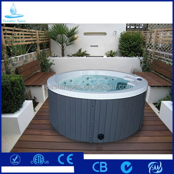 Hot Sale Acrylic Balboa Massage Spa Round Outdoor Hot Tub