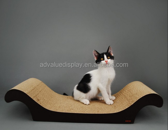 Fashionable Paper Pet Cat Toy Cardboard Cat Scratcher