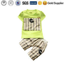 kids clothes children Tracksuit For Summer Boy Clothing Set