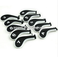 PU Customized golf iron head cover OEM