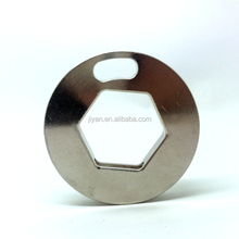 Nickle plated custom brass locking sleeve guangdong factory manufacturer
