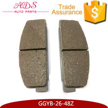 AKOK factory wholesale advanced brake pads for Mazda M6 Premacy auto spares parts GGYB-26-48Z