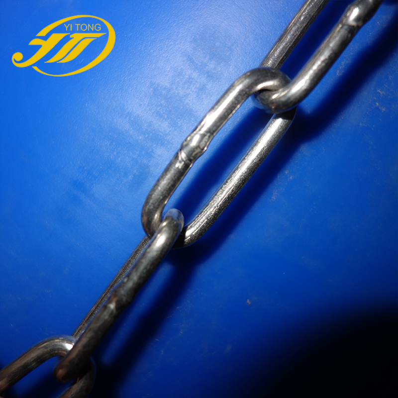 din5685a din766 din763 standard 304 stainless steel <strong>chain</strong>