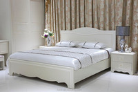 Factory Price PVC Membrane Coated Knock Down Bed Frame