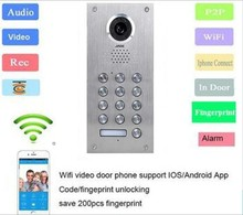 wireless video door phone commax with GSM control by mobile phone