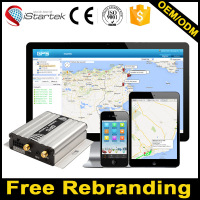 Istartek car tracker software VT600 by SMS and website software