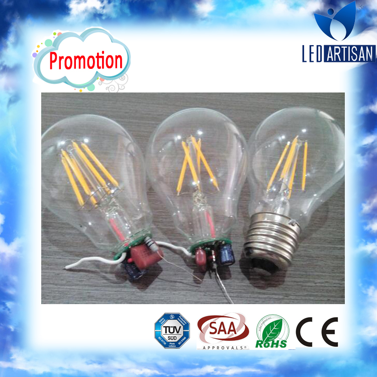 Most competitve price LED filament bulb custom filament bulb with 50000 hours life time