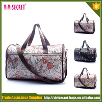 vivisecret parachute fabric polyester sublimation travel bag