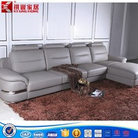 stainless steel sofa leather sofa coner sofa SF-170
