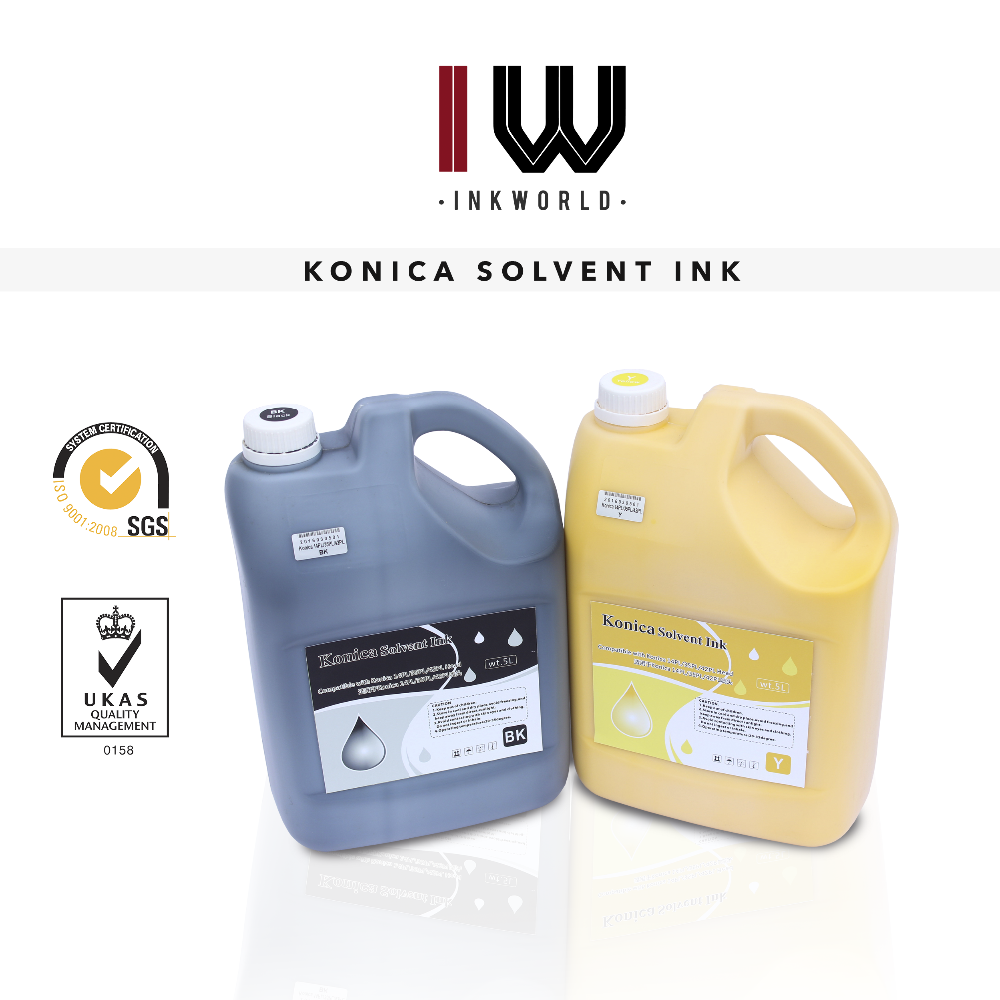 China manufacturer supply Solvent ink for Konica 14pl head for hp designjet 8000s/9000s