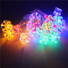 Cube Shape Led Christmas Garden Decorative Tree Lights Icicle light/Colorful icicle cube string light Christmas lightbox