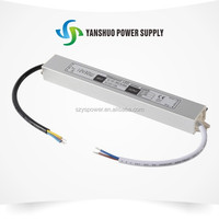 power supply CE&RoHS APPROVED waterproofip67 small size 30w led driver magnetron