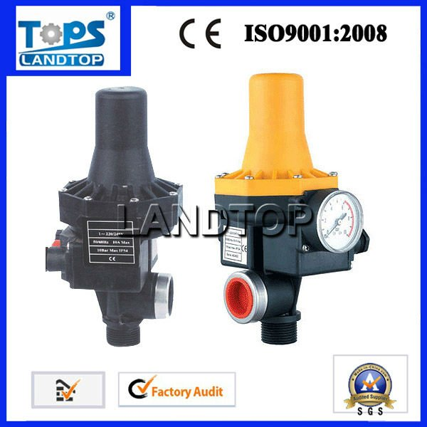 New electric automatic water pump pressure control