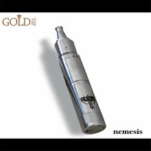 2013~2014 top quality hottest e cig nemesis mod,stainless and copper nemesis mod