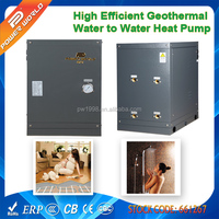 Small Geothermy Water Source Heat Pump Water Heater to Heated House or Residential How Water