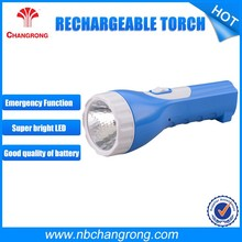 Handy AC recharge flashlight, USB output spotlight, work light, Emergency power bank