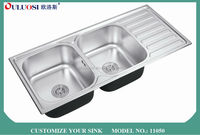hot sale all over world silver nice electroplating box for kitchen sink 11050