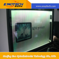 Transparent LCD/ OLED Display for product showcase/ advertising