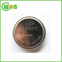 3.7V Rechargeable coin cell LIR2477 lithium battery