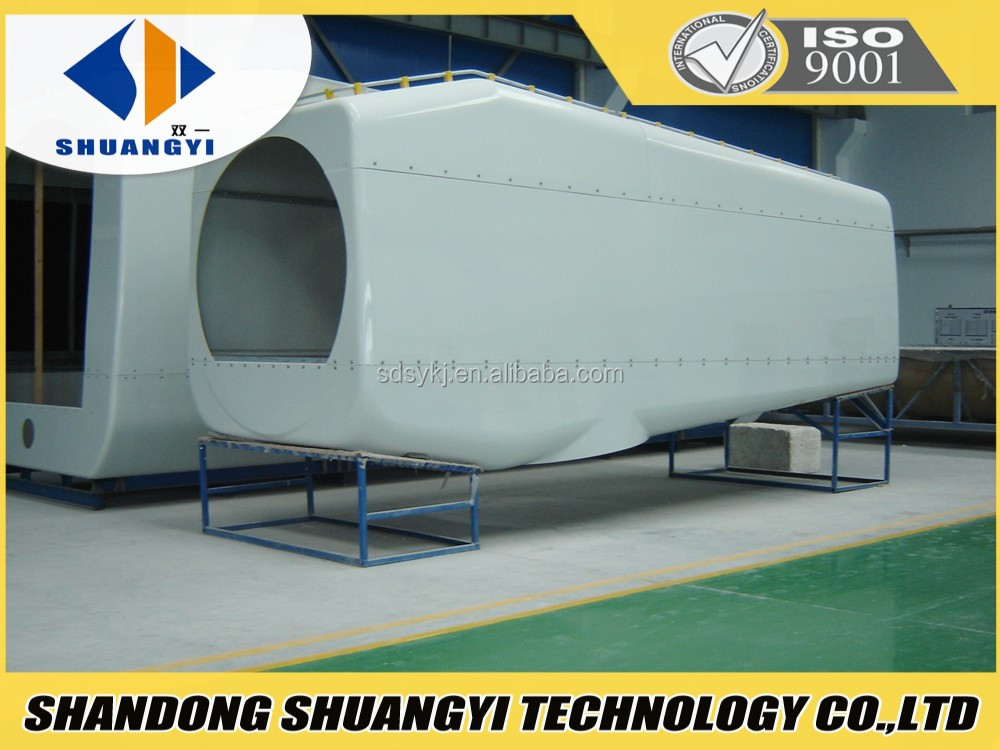 fiberglass car body part