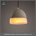 Top sale european style concrete body restaurant pendant lamp diameter 180cm