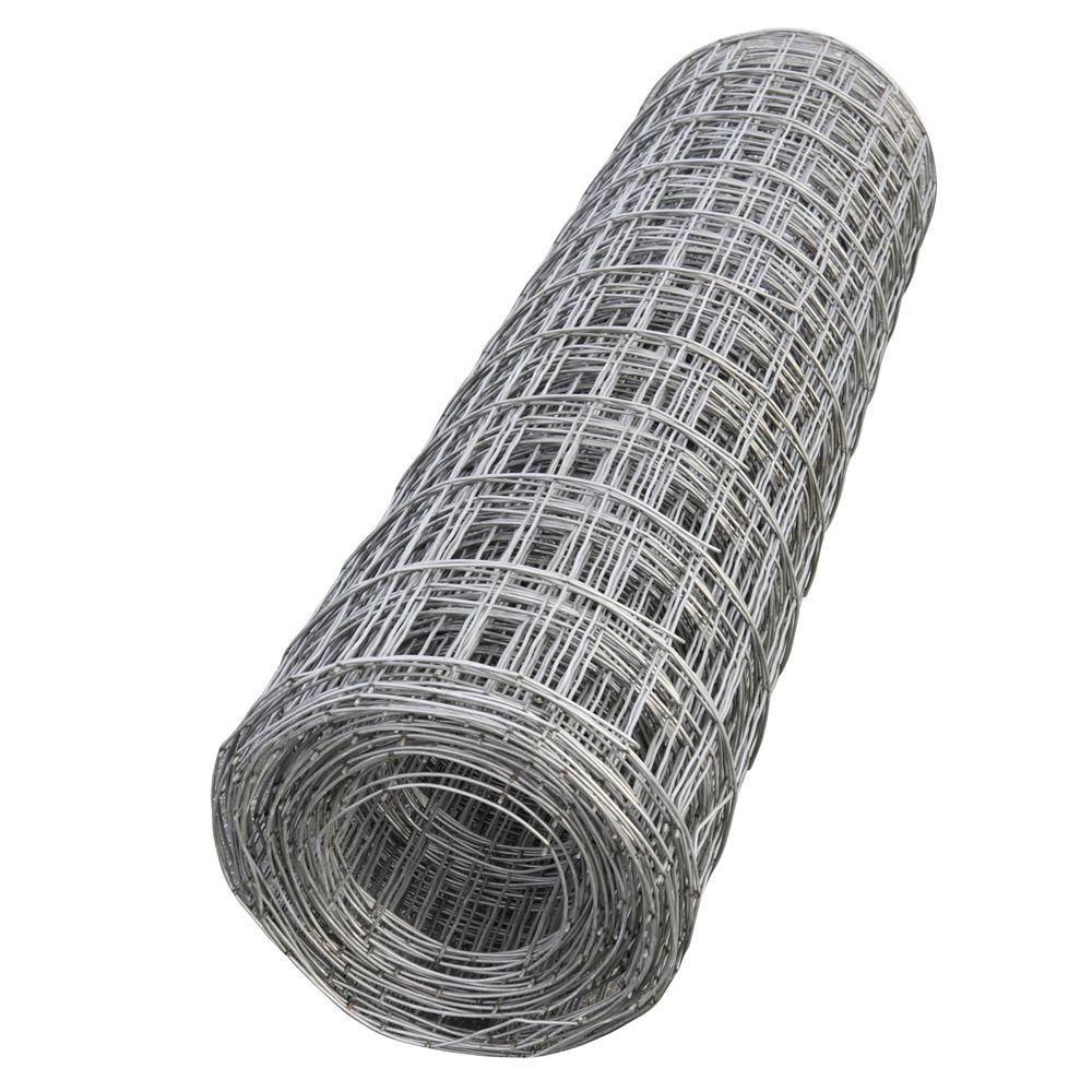 Low carbon galvanized steel wire mesh with square hole