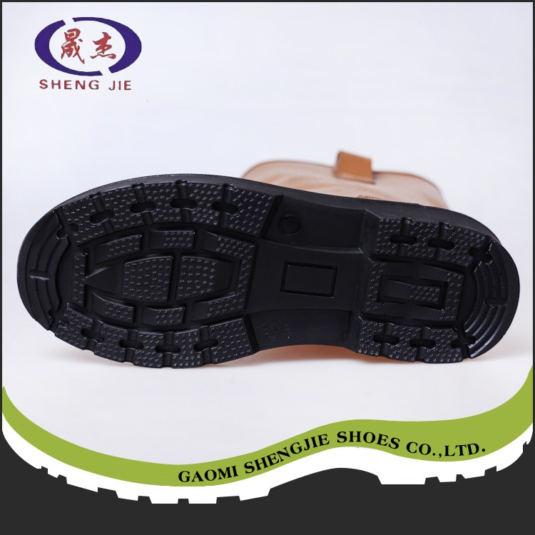 Top Sale custom new design pu injection safety shoes