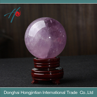 RARE RAINBOW AMETHYST QUARTZ centerpiece crystal balls wholesale for the witchcraft and decoration