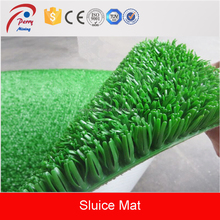 Green Plastic Grass Alluvial Gold Sluice Mat for Gold Recovery