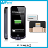 Real Capacity 2200mah Rechargeable Wallet Battery Case For Iphone 5 Battery Case Support Ios7