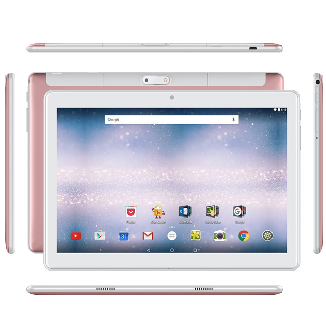 10.1 Inches MTK Quad Core Wifi 3G Calling Phone 10.1 inch IPS Android Tablet PC With Dual Sim Card