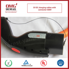 2015 hot selling DC charging cables-DC600V for EV battery and charging post to electric vehicle