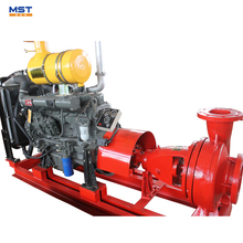 100 hp diesel engine water pump with clutch