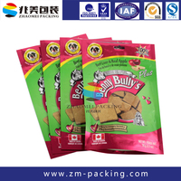 Printed Stand Up Ziplock Dog Food Packaging Bags