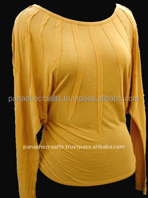 Ladies Fashion Jersey Tops Latest Designs
