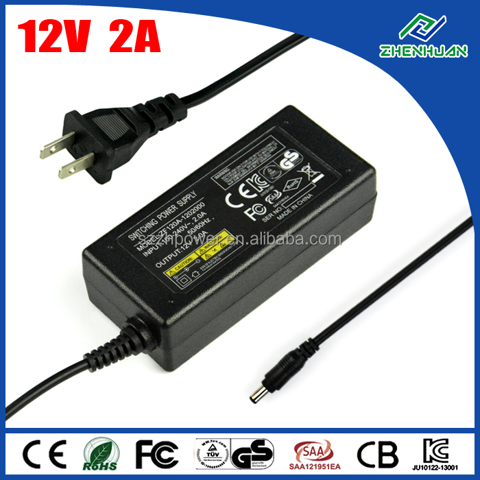 desktop power supply 12v 24w epson printer ac adapter