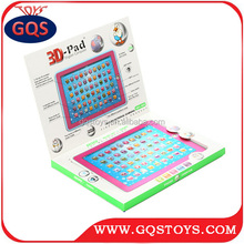Screen touch ! English educational learning machine toys tablet pc for kids