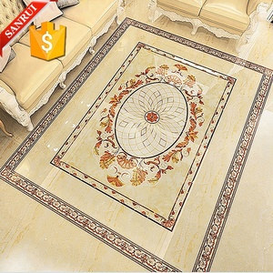 Interior Decoration Carpet Tile 3D Flooring tile prices in Morocco