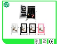 best selling MDF jewelry storage box with mirror table top
