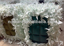 white bra foam scrap without skin/fabric for india