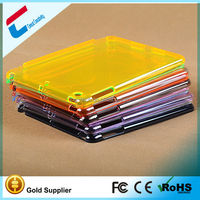 For iPad mini 2 retina Ultra Thin Transparent PC Case many colors for choice