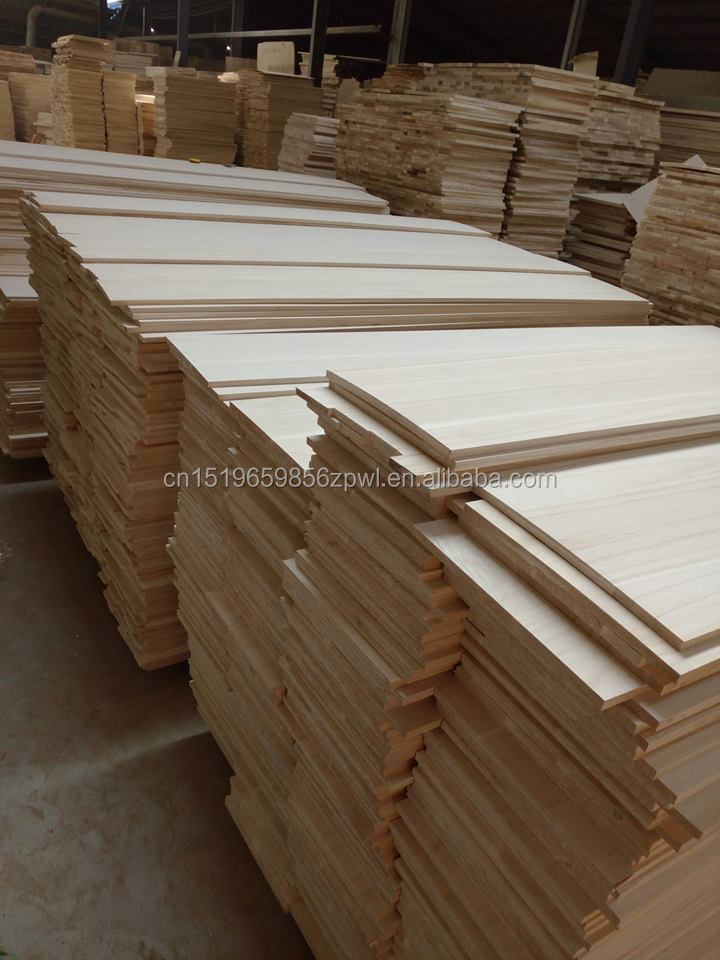 Drawer Sides and Backs Board Paulownia