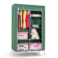 S7 high-quality & cheap portable bedroom closet wardrobe cabinets storage closet organizers wardrobe with wheels