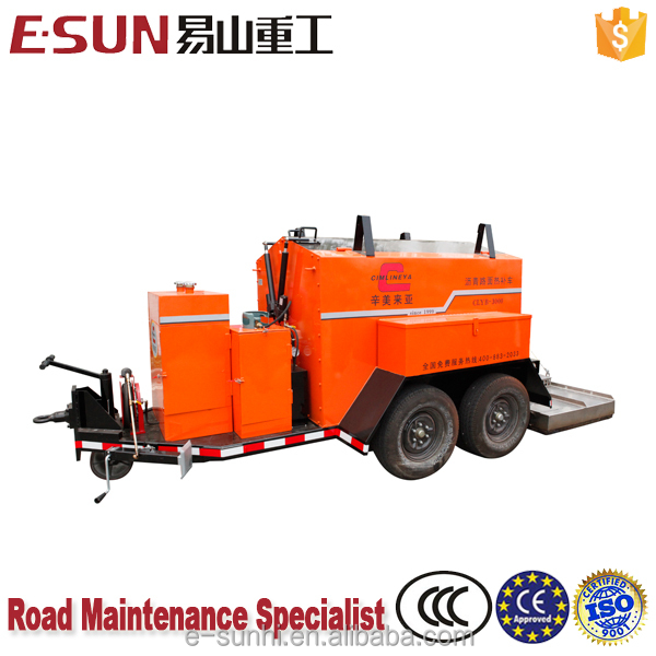 ESUN CLYB-1500III 1.5m3 Centralized Temperature Controller Asphalt Recycling Equipment