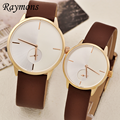 2015 Hot Sell PU Leather Couple Fashion Watch